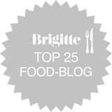 Brigitte Top 25 Food-Blog