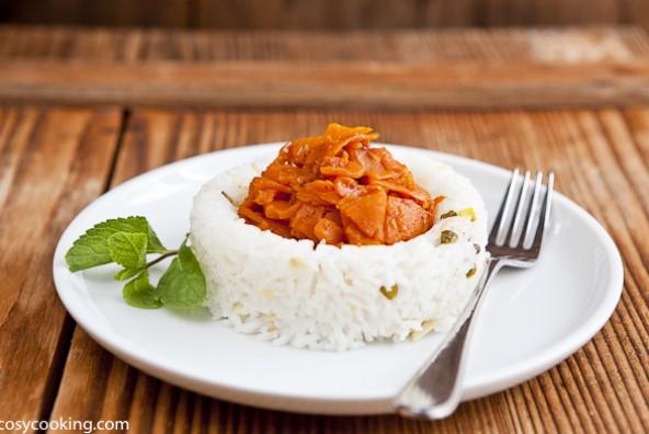 Kürbisgemüse orientalisch - Türkische Einwandererküche