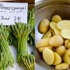 Aus der grünen Küche - Ährenspargelsalat mit gebratenen Kartoffeln