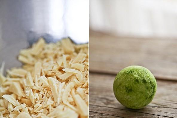 (Deutsch) Rezept aus Sweets von Nicole Stich - Truffes mit Matchatee und weisser Schokolade
