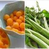 Blog-Event Melone - Charentais-Bleichsellerie-Salat