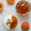 Marmelade - frische und halb getrocknete Marillen im Duett