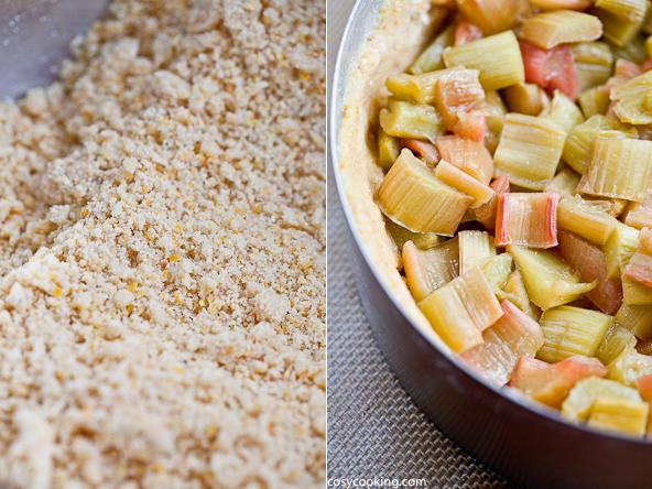 Rhabarber zimt polenta kuchen steigende vorfreude for Kuchen reduziert